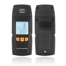 LCD  Digital Carbon Monoxide Handheld Meter CO Gas Tester Detector Meter 4Q 2T