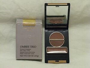 Lancome Ombre Eye Shadow Trio 'Euphorique' Bronze Beautiful Multi-Textures NIB