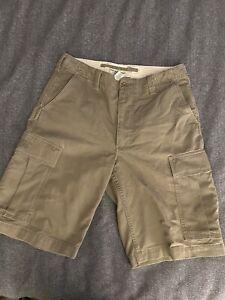 Polo Jeans Company Vintage Cargo Shorts Ralph Lauren 34 Brown 13-Inch Inseam EUC