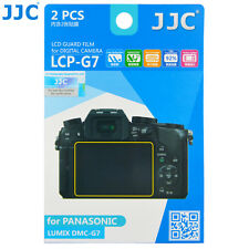 JJC LCD Guard Film Screen Protector for PANASONIC LUMIX DMC-G7 GX7 M2 G8 G80 G85