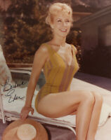 BARBARA EDEN SIGNED AUTOGRAPHED 8x10 PHOTO VERY RARE SWIMSUIT IMAGE BECKETT BAS
