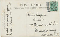 "2455 ""GREAT-YARMOUTH"" Squared Circle Postmark (Cohen Typ II CT) superb strike pc"