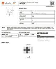 Sun Hydraulics Manifold B4d