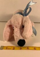 Vintage Pink MORGAN Stuffed Dog Plush from Garry Moore Show 10'