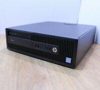 HP Pro 600 G2 Desktop Windows 10 Intel i5 6th Gen 3.2GHz 8GB 256GB SSD WiFi