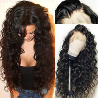 Glueless Peruvian Human Hair 360 Lace Frontal Wig Full Lace Wigs Deep Curly Wavy