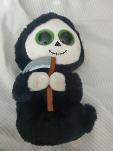 """TY BEANIE BOOS - GRIMM the 6"""" GHOST with SICKLE - with MINT TAG"""