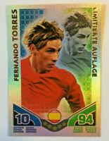 Fernando Torres Limitierte Auflage Rare Match Attax World Stars Topps Neu