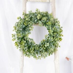 Silk Peony Artificial Wreath Ornament Flower Door Hanging Garland Wedding Party