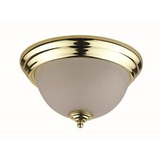 """Cal Lighting Ceiling 6"""" Height Ceiling Lamp, Polished Brass - LA-180S-PB"""