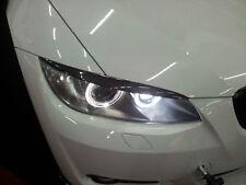 für BMW 3er Coupe E92 CARBON boeser blick scheinwerfer blende shürze eye brows l