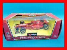 1:24 1/24 BURAGO FERRARI F300 F 300 Schumacher colore rosso F1 formula 1