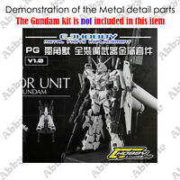 CJ Metal Details up Parts Set For PG 1/60 Unicorn Gundam Full Armor Unit Model
