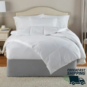 Down Alternative Comforter Blanket Twin White Comfortable Very Soft Extra Warmth