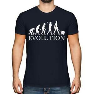 POMERANIAN EVOLUTION OF MAN MENS T-SHIRT TEE TOP DOG LOVER GIFT WALKER WALKING