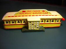 "Dept. 56 #50784 - Snow Village  ""DINER"" Or ""MICKEY'S DINING CAR""-"