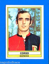 CALCIATORI 1973-74 Panini - Figurina-Sticker n. 136 - CORSO - GENOA -Rec