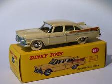 PROMO :  DODGE ROYAL SEDAN  réf. 191 au 1/43 de dinky toys atlas / DeAgostini