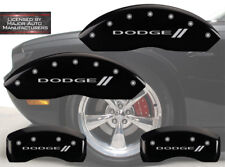 """2006-2010 """"Dodge"""" // Charger R/T Front + Rear Black MGP Brake Disc Caliper Cover"""