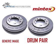2 x NEW MINTEX REAR BRAKE DRUM PAIR BRAKING DRUMS GENUINE OE QUALITY MBD302