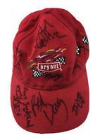 Autographed Bryant Racing Hat Indy Car Racing Team Rick Smith Adjustable Red