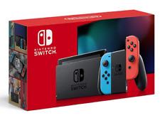 NEW Ver. Nintendo Switch Game console Joy-Con (L) Neon Blue / (R) Neon Red