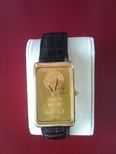 corum 15gr gold ingot watch - manual movement - swiss made