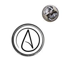 Atheism Sign Symbol Lapel Hat Tie Pin Tack