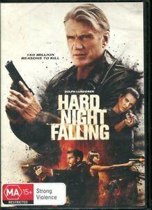 Hard Night Falling DVD NEW Region 4 Dolph Lundgren
