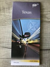 Aaa Texas State Travel Road Map Vacation Roadmap 2019-2021 Tx Map