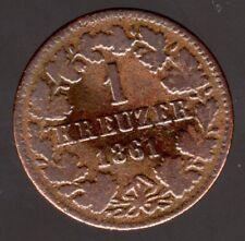 1 Kreuzer 1852 Von Baden, Erhaltung Siehe Scan Münzen Kleinmünzen & Teilstücke
