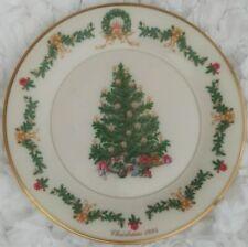 Lenox Christmas Tree Around The World 1995 Austria Decorated Tree Plate 10.75�