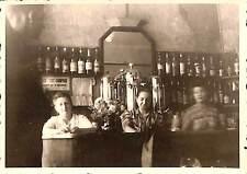 65 LOURDES PHOTO INTERIEUR DE BAR CAFE 1949