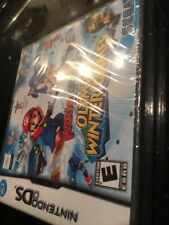 Mario & Sonic at the Olympic Winter Games Nintendo DS Brand New Factory Sealed