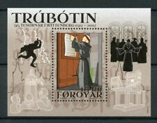 Faroes Faroe Islands 2017 MNH Reformation 500th Anniv 1v M/S Religion Stamps