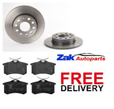 FOR AUDI A3 MK2 1.9 2.0 TDi SPORT S-LINE FSi REAR BRAKE DISCS & PADS SET NEW