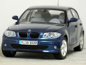 """1:18 Kyosho DEALER EDITION """"[E87] BMW 120i HATCHBACK"""" (Le Mans Blue) 1er 130i"""