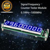 LED Display Frequenz Zähler Ersatz Modul 0,1 ~ 1000mhz Signal Cymometer Tester