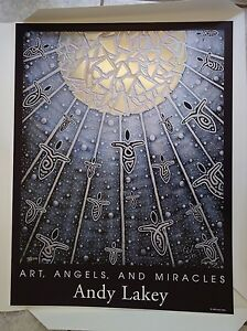 Andy Lakey Art, Angels, & Miracles (Angel #804), Signed Print, 7/500, 19 x 25 in
