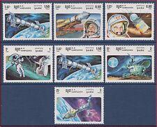 CAMBODGE Kampuchea N°536/542** Espace 1985, CAMBODIA Space Sc#575-581 MNH