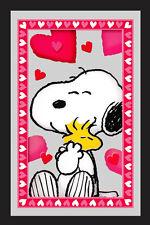 Peanuts Hearts Snoopy Umarmt Woodstock