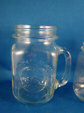 Drinking Mug Mason Style Jar Golden Harvest Anchor Hocking 16 oz. @23