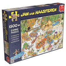 Jumbo Games Jan van Haasteren Wild Water Rafting Jigsaw Puzzle NEW 1500 PIECES