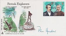 Pen HADOW SIGNED Autograph FDC AFTAL COA First Day Cover Polar Explorer RARE