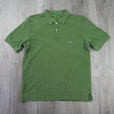 Vintage pour homme BENETTON coton PIQUE POLO SHIRT M vert style United Colours of