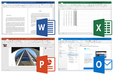 Microsoft Office 2016 5PC License ACCESS EXCEL WORD 365 OUTLOOK WINDOWS