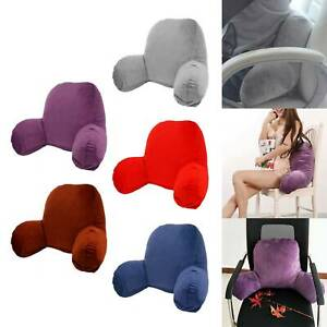 Orthologics Reading Pillow Back Rest Lumbar Support Arm Seat Cushion Lounger