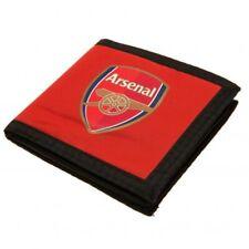 Arsenal FC  Money Wallet Official Men's Boys Gift Idea Crest Football Club Red