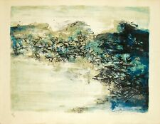 Lithographie - Zao Wou Ki - Zhào Wújí - 赵无极 – 趙無極 - Art Chinois - 1968