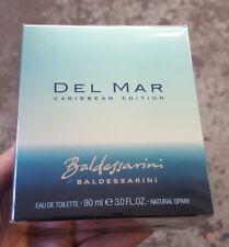New RARE Sealed Del Mar Caribbean edition Baldessarini EDT Spray 3.0 fl.oz for M